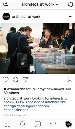 Følg ARCHITECT@WORK på Instagram!